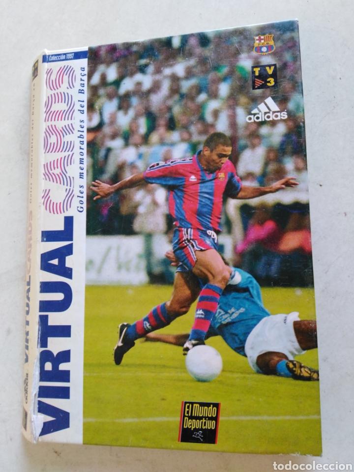 VICTUAL CARDS, EL MUNDO DEPORTIVO, F.C.BARCELONA (Coleccionismo Deportivo - Álbumes y Cromos de Deportes - Álbumes de Fútbol Completos)
