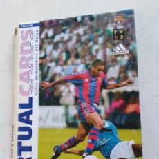 Álbum de fútbol completo: VICTUAL CARDS, EL MUNDO DEPORTIVO, F.C.BARCELONA. Lote 222559358