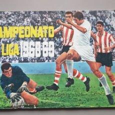 Álbum de fútbol completo: ALBUM COMPLETO LIGA DISGRA FHER 68 69 1968 1969 CON 12 DOBLES. MARTOS, ASENSI Y MUCHOS DIFICILES. Lote 222989333
