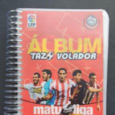 Álbum de fútbol completo: COLECCIÓN COMPLETA TAZOS VOLADORES MATULIGA 2013 CON ÁLBUM INCLUIDO. Lote 223100458