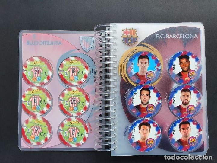 Álbum de fútbol completo: Colección Completa Tazos Voladores MATULIGA 2013 con álbum Incluido - Foto 3 - 223100458