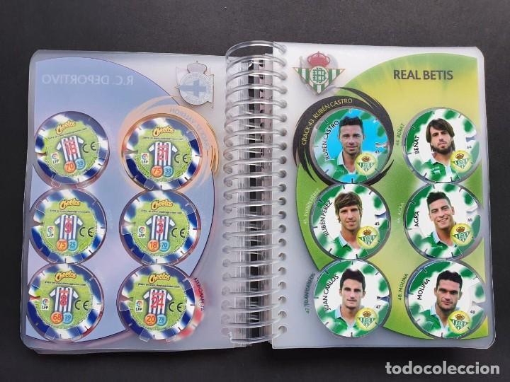 Álbum de fútbol completo: Colección Completa Tazos Voladores MATULIGA 2013 con álbum Incluido - Foto 9 - 223100458