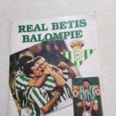Álbum de fútbol completo: ÁLBUM DE CROMOS REAL BETIS BALOMPIE ( TRAE ALGUNAS FIRMAS ). Lote 223151187