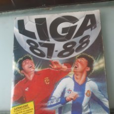 Album de football complet: ALBUM 87 88 1987 1988 ESTE COMPLETO A FALTA DE 13 BUEN ESTADO VEAN FOTOS. Lote 223198602