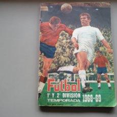 Álbum de fútbol completo: ALBUM LIGA FHER DISGRA 1968 1969 68 69 COMPLETO 1 DIVISION Y 2 DIVISION PRACTICAMENTE CON ASENSI.. Lote 223487967