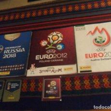 Álbum de fútbol completo: PANINI EUROCOPA EURO 2008 AUSTRIA SUIZA COMPLETO, 2012 POLONIA UCRANIA INCOMPLETO. REGALO FRANCIA 18. Lote 223579936