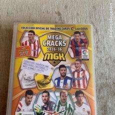 Álbum de fútbol completo: ÁLBUM COMPLETO CARDS MEGACRACKS 2015-16 PANINI. Lote 294103483