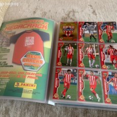 Álbum de fútbol completo: ÁLBUM COMPLETO CARDS MEGACRACKS 2010-11 PANINI ERROR PEDRO. Lote 294103413