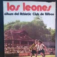 Álbum de fútbol completo: ÁLBUM CROMOS FÚTBOL COMPLETO LOS LEONES ORIGINAL CHOCOLATES SUCHARD 1974 ATHLETIC BILBAO. Lote 224094728
