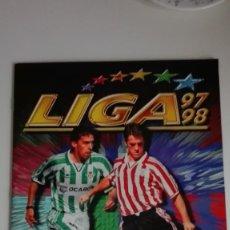 Álbum de fútbol completo: ALBUM LIGA 97-98. EDICIONES ESTE.. Lote 224166762