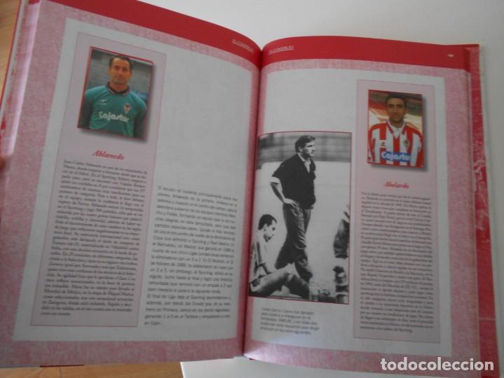 Álbum de fútbol completo: EL LIBRO DE ORO DEL SPORTING. LIBRO CON FOTOGRAFIAS ADHESIVAS. COMPLETO. REAL SPORTING DE GIJON. 100 - Foto 2 - 224304950