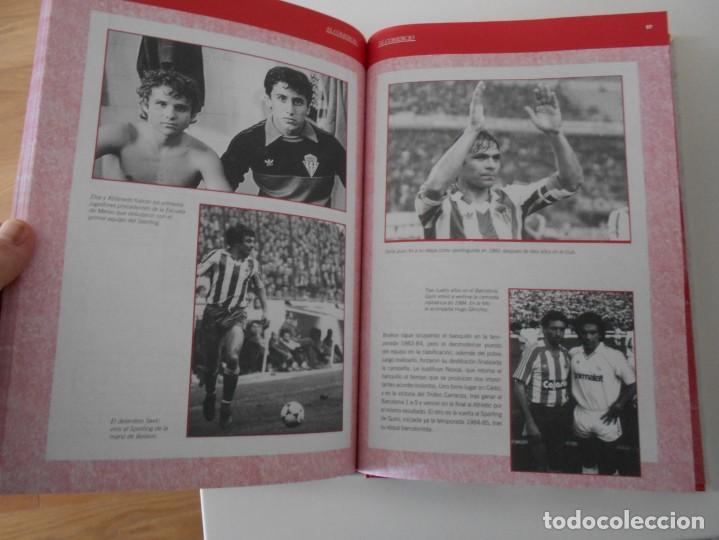 Álbum de fútbol completo: EL LIBRO DE ORO DEL SPORTING. LIBRO CON FOTOGRAFIAS ADHESIVAS. COMPLETO. REAL SPORTING DE GIJON. 100 - Foto 3 - 224304950