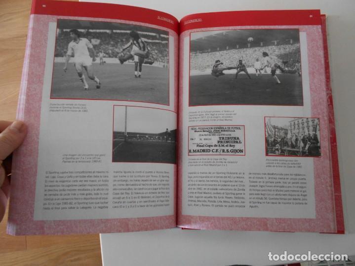 Álbum de fútbol completo: EL LIBRO DE ORO DEL SPORTING. LIBRO CON FOTOGRAFIAS ADHESIVAS. COMPLETO. REAL SPORTING DE GIJON. 100 - Foto 4 - 224304950