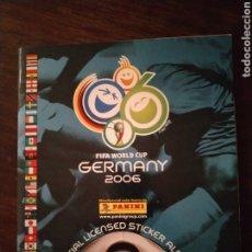 Álbum de fútbol completo: ÁLBUM DE CROMOS MUNDIAL 06 2006 ALEMANIA PANINI COMPLETO. Lote 224560915