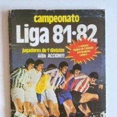 Álbum de fútbol completo: ÁLBUM 1981-82 ESTE COMPLETO CON CROMOS DIFICILES Y MUCHOS DOBLES VER FOTOS Y DESCRIPCIÓN. Lote 224585460