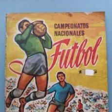 Álbum de fútbol completo: ALBUM CAMPEONATOS NACIONALES FUTBOL EDIC RUIZ ROMERO LIGA 57 58 1957 1958 57/58 BARATO OPTIMA CONSER. Lote 158251410