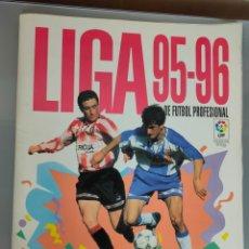 Album de football complet: ALBUM COMPLETO LIGA 95-96 PANINI CON SUPLEMENTO VALLADOLID Y ALBACETE Y ÚLTIMOS FICHAJES. Lote 224891886