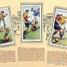 Álbum de fútbol completo: ALBUM 1934 FUTBOL JOHN PLAYER. INGLES. TECNICAS HINTS ASSOTATION. COMPLETO. Lote 225418120