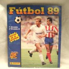 Álbum de fútbol completo: LIGA ESPAÑOLA 89 ÁLBUM DE FUTBOL COMPLETO, BUEN ESTADO, PANINI. Lote 225458397