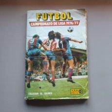 Álbum de fútbol completo: ALBUM COMPLETO LIGA ESTE 76 77 1976 1977 CON 11 DOBLES. Lote 152159366