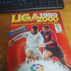 Álbum de fútbol completo: LIGA 1999 - 2000 - COLECCION OFICIAL DE CROMOS - COMPLETA - 380 CROMOS. Lote 225875565