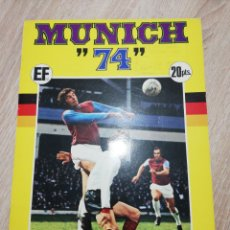 Caderneta de futebol completa: ALBUM FUTBOL MUNICH 74 COMPLETO. Lote 226008681