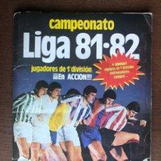 Álbum de fútbol completo: ALBUM LIGA ESTE FUTBOL 81-82 COMPLETO 1981-1982 CON 54 DOBLES Y 1 TRIPLE BUEN ESTADO. Lote 226054490