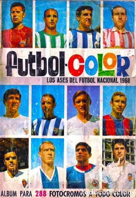 ALBUM CROMOS FACSIMIL FUTBOL COLOR 1966 1967 66 67 BRUGUERA NUEVO COMPLETO (Coleccionismo Deportivo - Álbumes y Cromos de Deportes - Álbumes de Fútbol Completos)