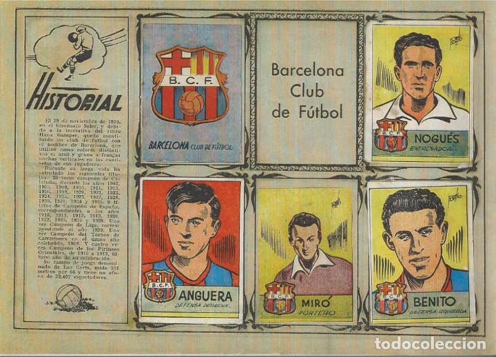 Álbum de fútbol completo: ÁLBUM CROMOS FUTBOL FACSIMIL ALBUM FUTBOLISTICO 1942 1941 CISNE COMPLETO Y NUEVO - Foto 2 - 226130325