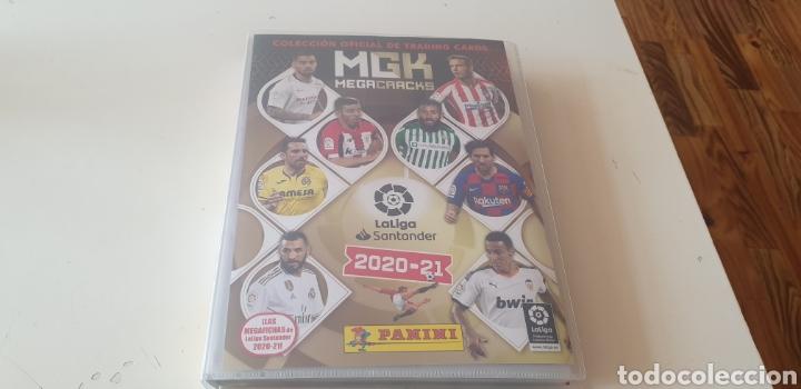 COLECCION COMPLETA MGK MEGACRACKS 2020 2021 20 21 CON TODO LO EDITADO CON LA JUGON 165 MUSAH Y 4 MAS (Coleccionismo Deportivo - Álbumes y Cromos de Deportes - Álbumes de Fútbol Completos)