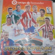 Álbum de fútbol completo: ADRENALYN 2016-17 16 2017 LA LIGA SANTANDER - ALBUM COMPLETO CON TODO, 580 TRADING CARD GAME - BIEN. Lote 226573537