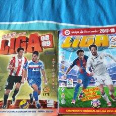 Álbum de fútbol completo: LIGA ESTE PANINI 08/09 Y 17/18. Lote 226574010