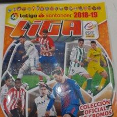 Álbum de fútbol completo: LA LIGA SANTANDER 2018-19 - COLECCIONES ESTE - COLECCION COMPLETA, CON TODO: MERCADO INVIERNO, ETC. Lote 226582345