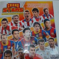 Álbum de fútbol completo: CROMO STARS - JUGON - COLECCIONES ESTE - COLECCION COMPLETA DE 54 CROMOS PANINI 2006-07 A 2016-17. Lote 226589317