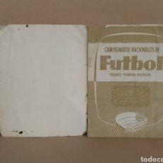 Album de football complet: ÁLBUM DE FÚTBOL CAMPEONATOS NACIONALES 1958.RUIZ ROMERO. Lote 226696990
