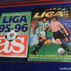 Álbum de fútbol completo: ESTE LIGA 97 98 1997 1998 COMPLETO. MUCHO COLOCA. REGALO LIGA 95 96 AS INCOMPLETO.. Lote 227033510