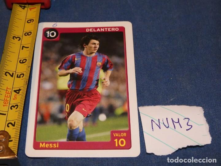 MUY TEMPRANA CARTA LIONEL MESSI FCB FUTBOL CLUB BARCELONA 10 DELANTERO (Coleccionismo Deportivo - Álbumes y Cromos de Deportes - Álbumes de Fútbol Completos)