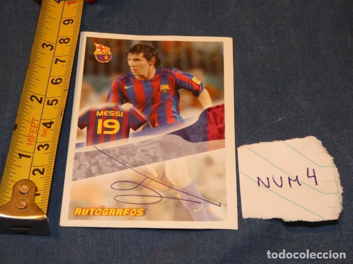 MUY TEMPRANO CROMO MESSI PANINI SUPER BARÇA 2005 2006 (Coleccionismo Deportivo - Álbumes y Cromos de Deportes - Álbumes de Fútbol Completos)