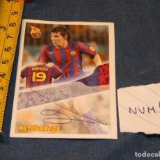 Álbum de fútbol completo: MUY TEMPRANO CROMO MESSI PANINI SUPER BARÇA 2005 2006. Lote 227547255