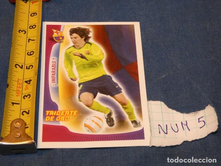 MUY TEMPRANO CROMO MESSI PANINI SUPER BARÇA 2005 2006 CAMISETA AMARILLA (Coleccionismo Deportivo - Álbumes y Cromos de Deportes - Álbumes de Fútbol Completos)