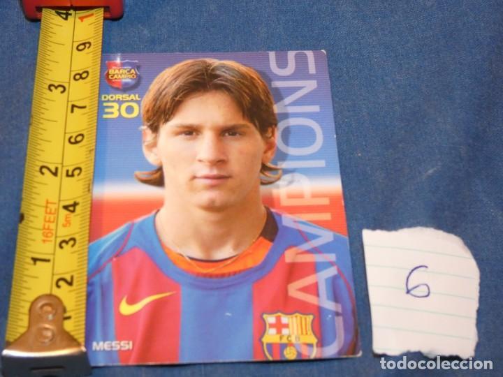 MUY TEMPRANA CARTA MESSI ROOKIE 30 (Coleccionismo Deportivo - Álbumes y Cromos de Deportes - Álbumes de Fútbol Completos)