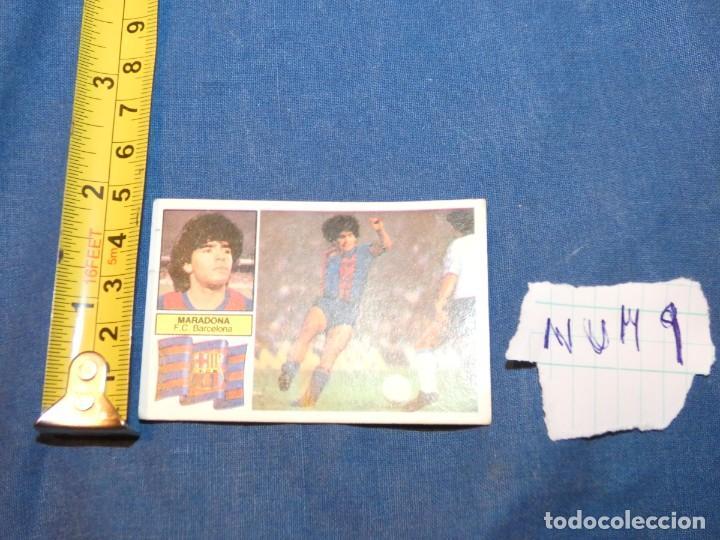 CROMO MARADONA ESTE 82/83 ULTIMOS FICHAJES 6 (Coleccionismo Deportivo - Álbumes y Cromos de Deportes - Álbumes de Fútbol Completos)