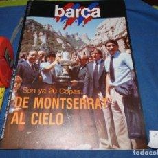 Álbum de fútbol completo: REVISTA BARÇA AÑO 1983 MARADONA EN MONTSERRAT. Lote 227548955