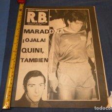 Álbum de fútbol completo: REVISTA BARÇA BARCELONISTA AÑO 1980 OJALA VENGA MARADONA. Lote 227549135