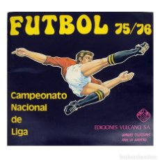 Álbum de fútbol completo: ALBUM 1975 1976 FUTBOL LIGA 75 76 VULCANO EXCELENTE ESTADO. BIRI BIRI, NETZER, QUINI, IRIBAR CRUYFF. Lote 225410373