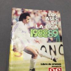 Álbum de fútbol completo: LOS ASES DE LA LIGA 89. Lote 228368190