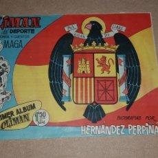 Álbum de fútbol completo: ALBUM OLIMAN 1961 SELECCION ESPAÑOLA. Lote 228965302