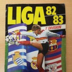 Album de football complet: ÄLBUM COMPLETO ESTE 82/83, VERSIONES IMPOSIBLES MARDONA ROOKIE CARD FC BARCELONA E ISIDRO,R. MADRID. Lote 229223410