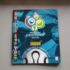 Álbum de fútbol completo: ALBUM COMPLETO MUNDIAL 2006 06 PANINI ALEMANIA MBE SIN ESCRITOS PRIMER MUNDIAL MESSI. Lote 229347535