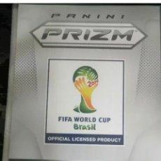 Álbum de fútbol completo: 2014 PANINI PRIZM COPA MUNDIAL DE FIFA CONJUNTO COMPLETO BÁSICO /1-201/RONALDO MESSI NEYMAR. Lote 229810910